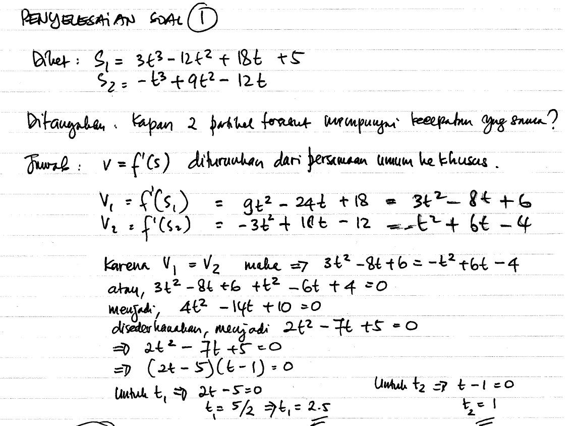 Uts Kalkulus I Koreksi Dong Muhammad Burhanuddin