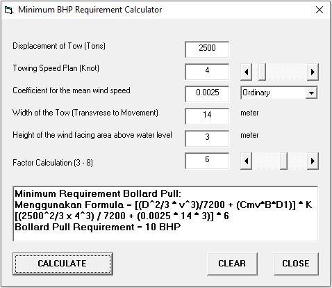 Program Minghitung BHP